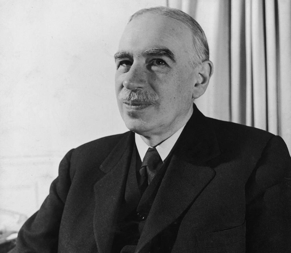 John Maynard Keynes | Vía - thecommentator.com/