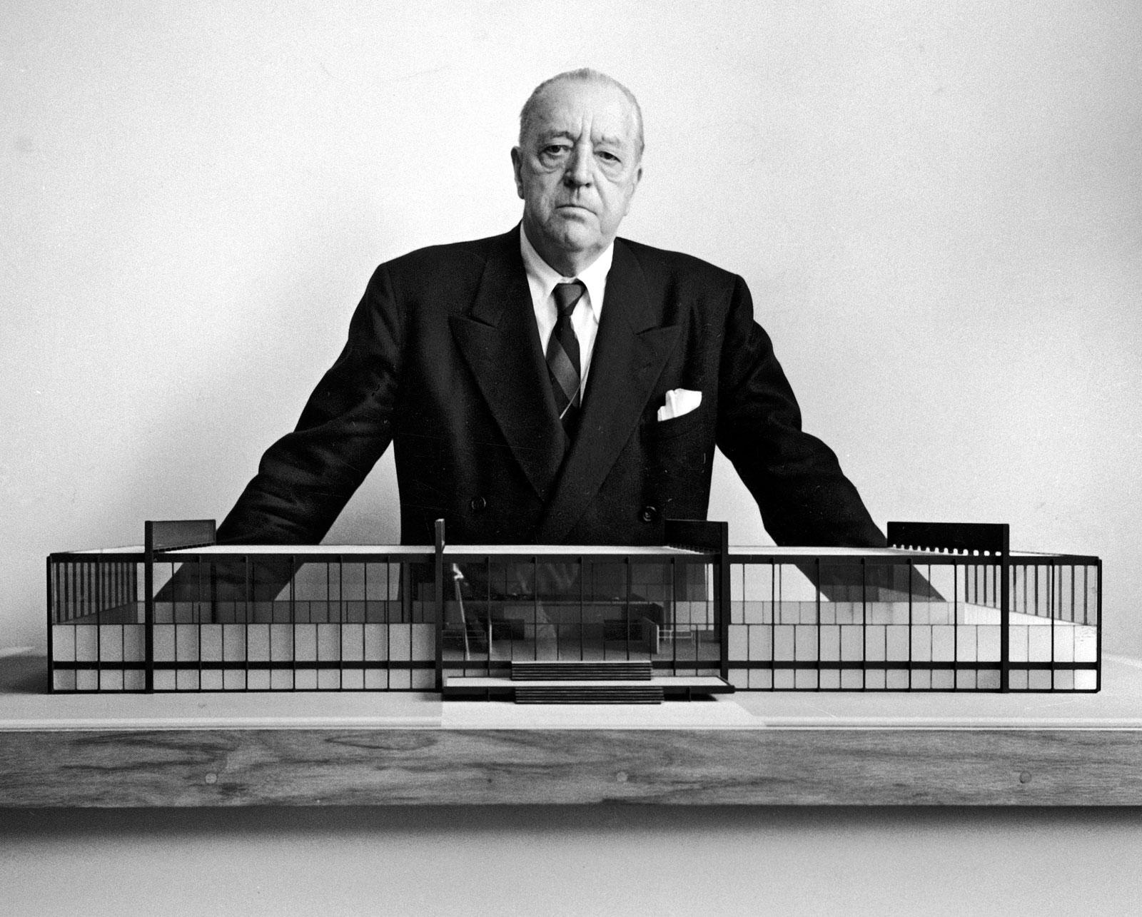 Imagen: Ludwig Mies Van Der Rohe | Vía - juluis.com