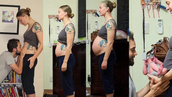 Time-lapse-de-un-embarazo
