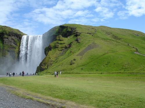 islandia-cascada
