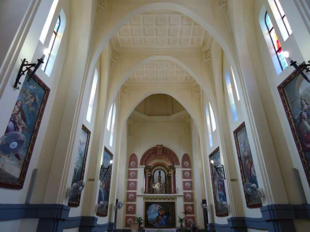 Interior del Santuario de Santa María Magdalena