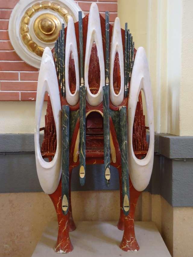 Maqueta del Órgano de Mármol