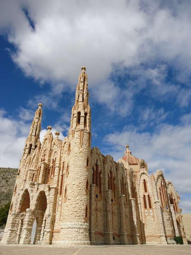 Vista general del Santuario de Santa María Magdalena