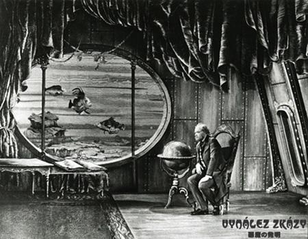 El Fabuloso Mundo de Julio Verne_los lienzos y la magia a lo George Méliés