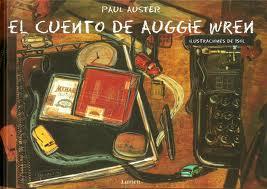 Cubierta Cuento de Auggie Wren ilustrada por Isol