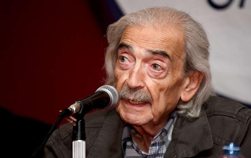 """Juan Gelman, poeta argentino. Encuentro de poesía """"Paralelo Cero"""". Foto: Luis Astudillo C. / Agencia Andes (Flickr) - juan-gelman"""