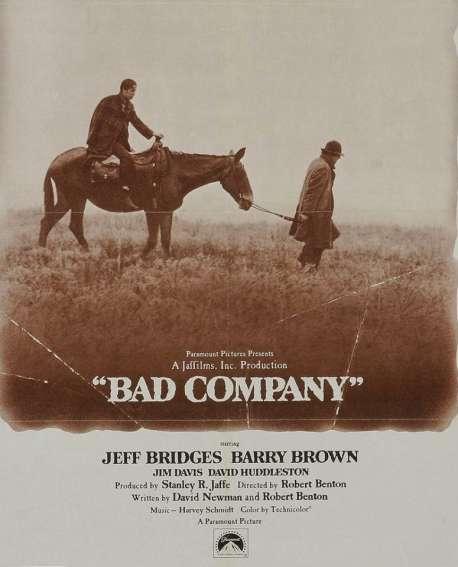 Un western de errancias y viajeros: 'Bad company' de Robert Benton y David Newman