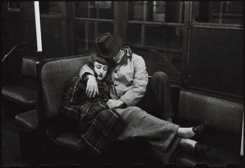 Una foto de Kubrick en su época de fotógrafo