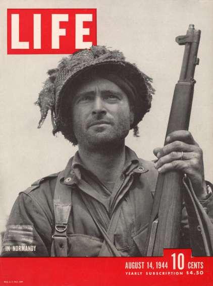 life magazine normandy
