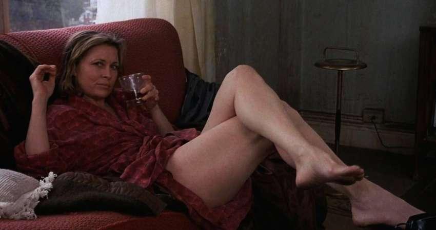 Faye Dunaway es Wanda Wilcox, en 'Barfly', de Barbet Schroeder