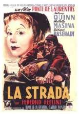 Cartel de La Strada, de Federico Fellini Fuente: Wikipedia