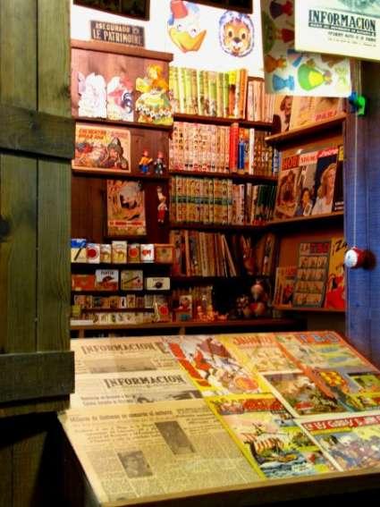 Kiosko interior