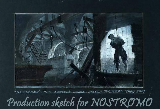 Trazos para 'Nostromo' de David Lean