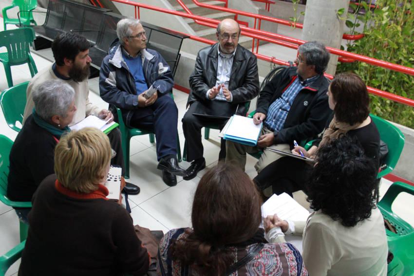 Reunión en el marco de la ETV+i (Villena)