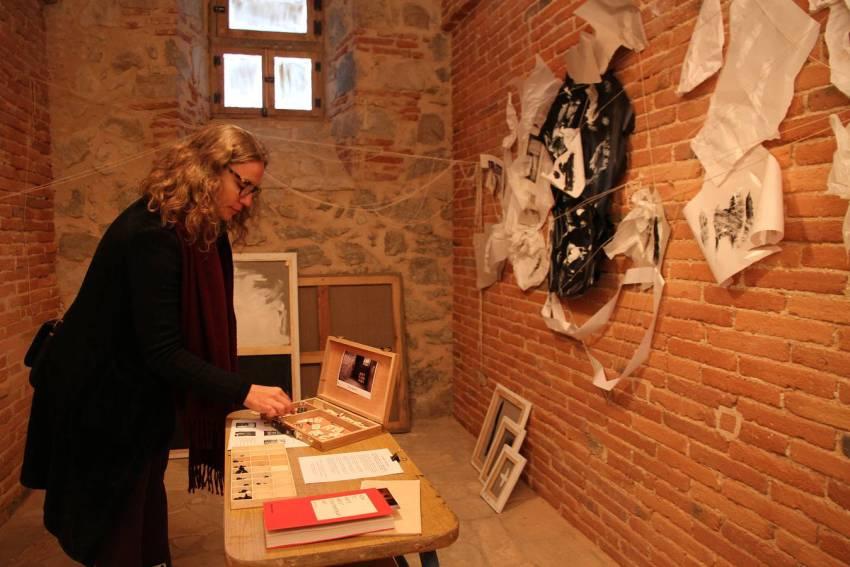 14-11-14 Segovia. La Cárcel Centro de Creación. Exposición Galerías.