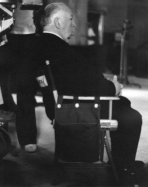 """Hitchcock en el verano de 1975 dirigiendo """"La trama"""", que sería su último filme."""
