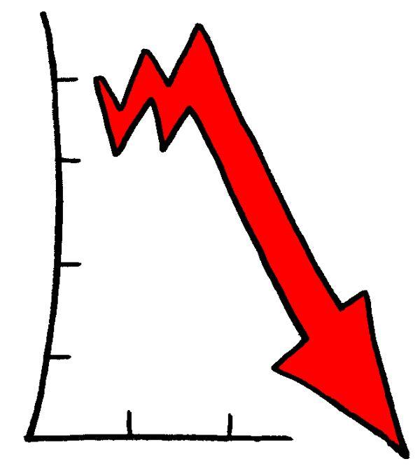 Caída de precios y salarios