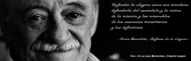 Mario Benedetti | Vía: http://web.ua.es