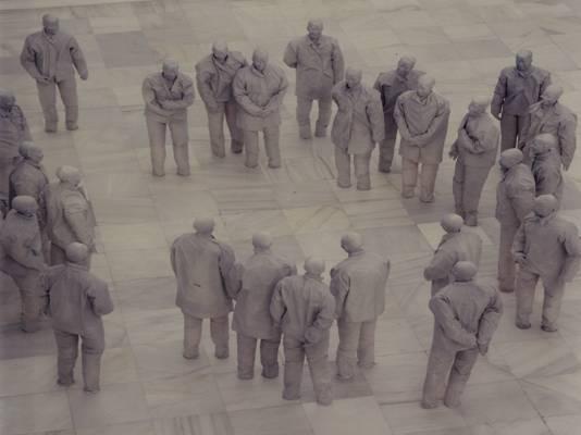 Plaza (detalle) 1996