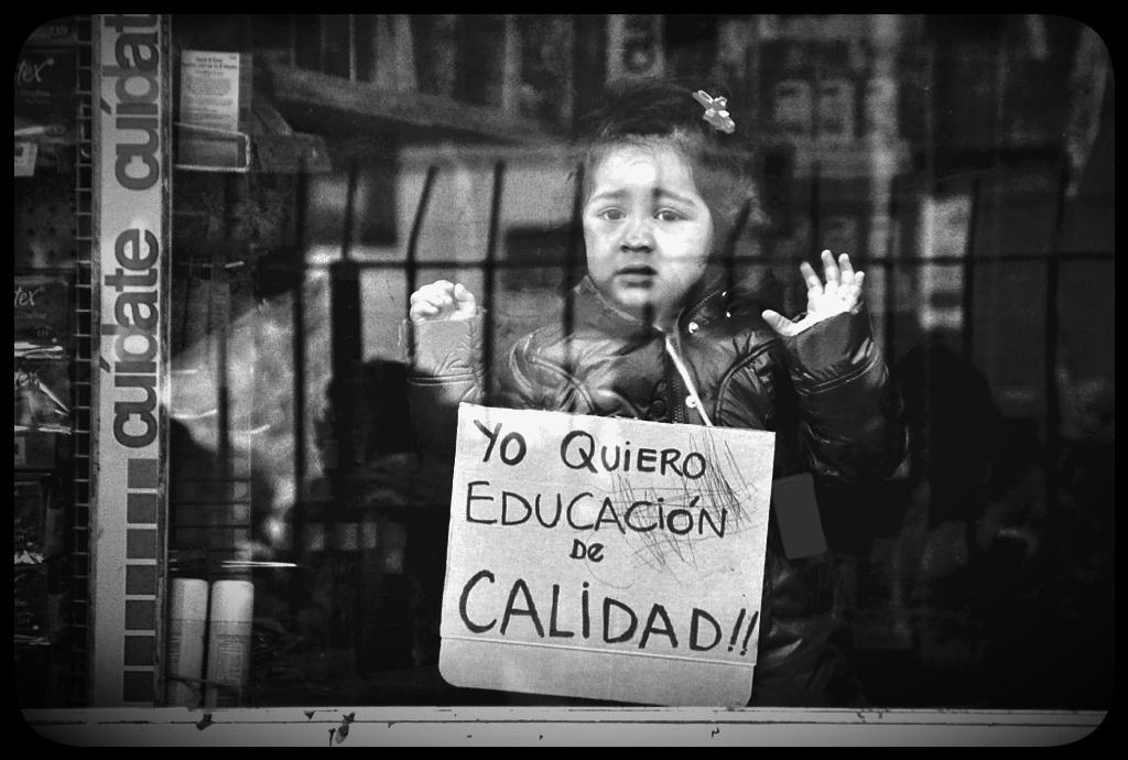 Marcha Nacional por la educación | Vía - Matias Asun (flickr)