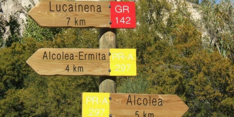 señalización senderos