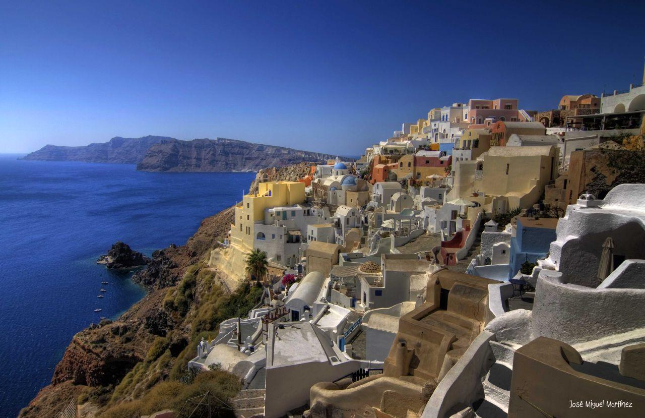 Oian, Santorini (Grecia) | Vía: José Miguel (Flickr)