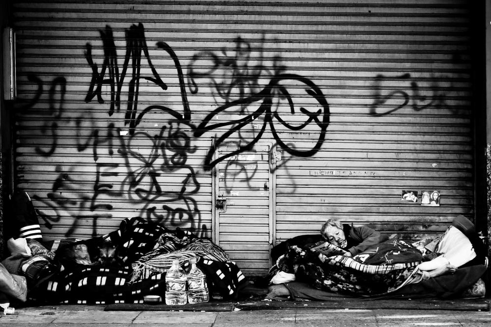 Sin techo | Fotografía: Hernán Piñera (Flickr)