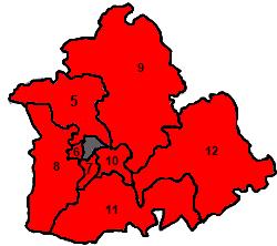 Distritos Sevilla