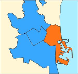 Distritos de Valencia