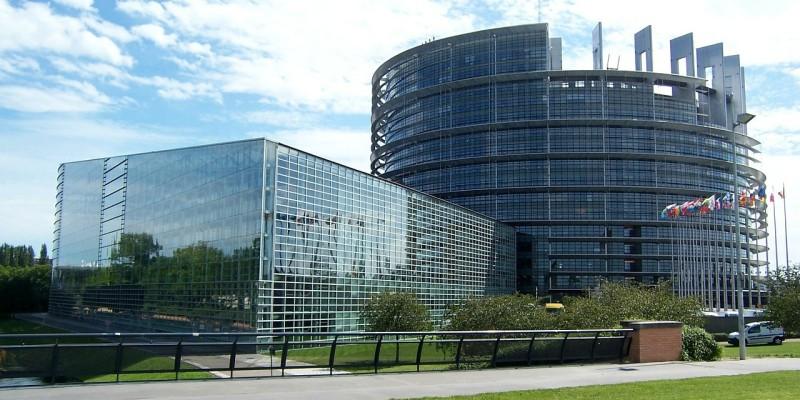 Edificio del Parlamento Europeo en Estrasburgo. Pixabay.