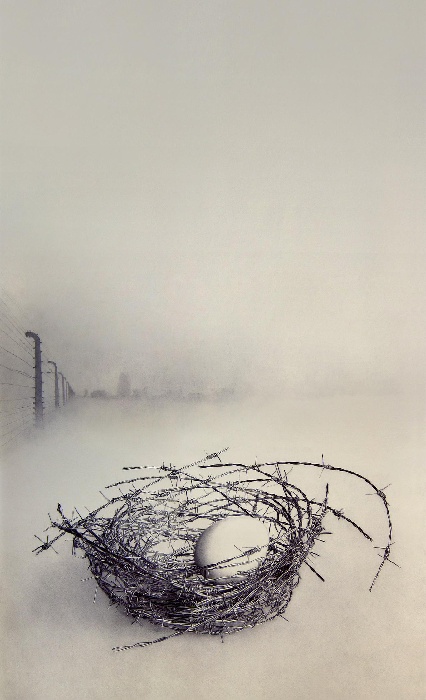 """Nido/Casa para pájaros"" (díptico), 2014"