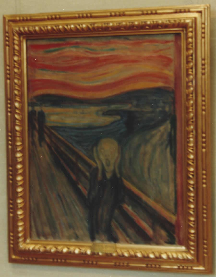 El Grito de Edvard Munch. Foto del autor