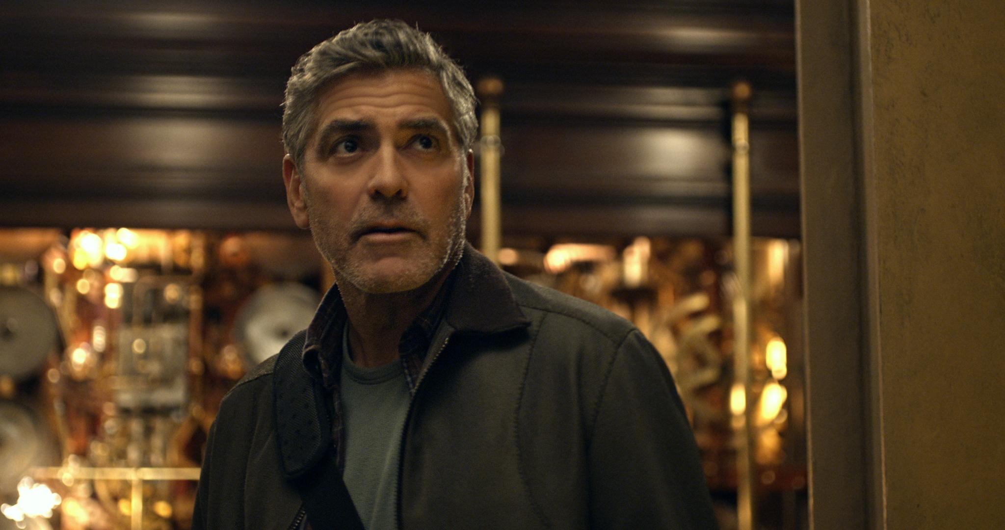 Disney's TOMORROWLAND Frank Walker (George Clooney) Ph: Film Frame ©Disney 2015