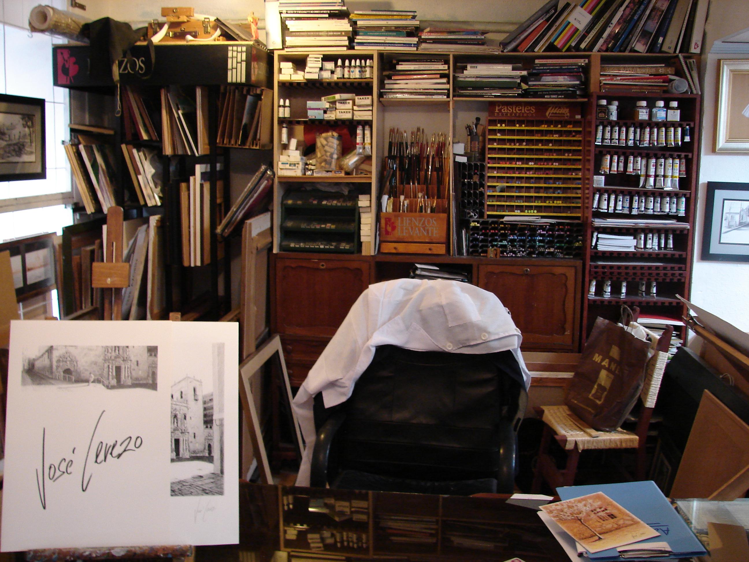 Estudio - Taller de José Cerezo