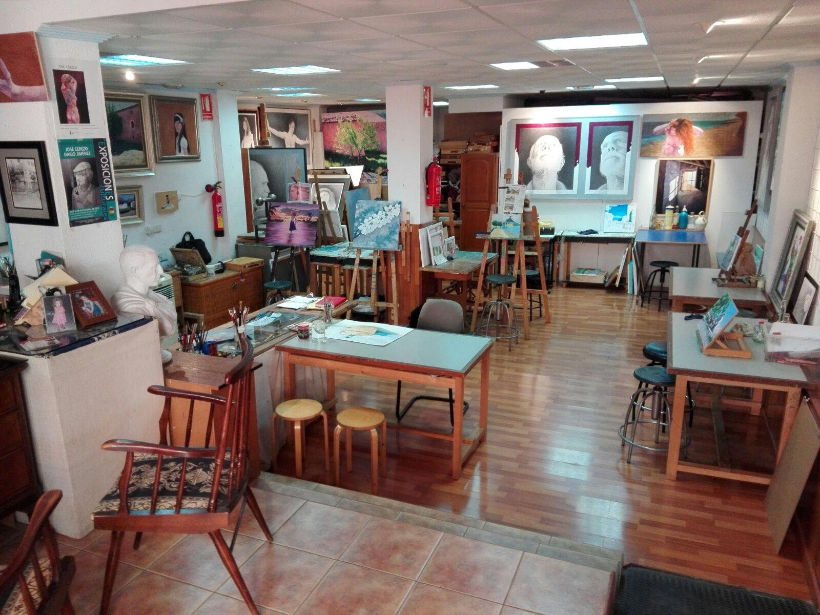 Escuela de dibujo y pintura