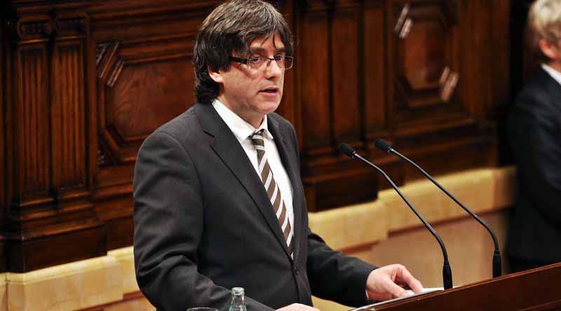 Carles Puigdemont, President de la Generalitat (Wikimedia Commons)