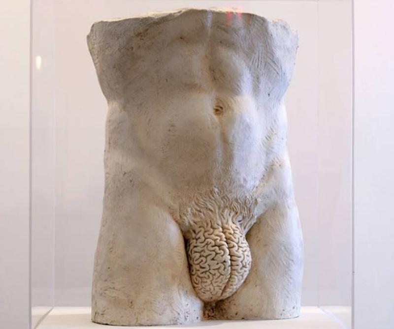 Escultura: 'Rational' | Yoan Capote (web)