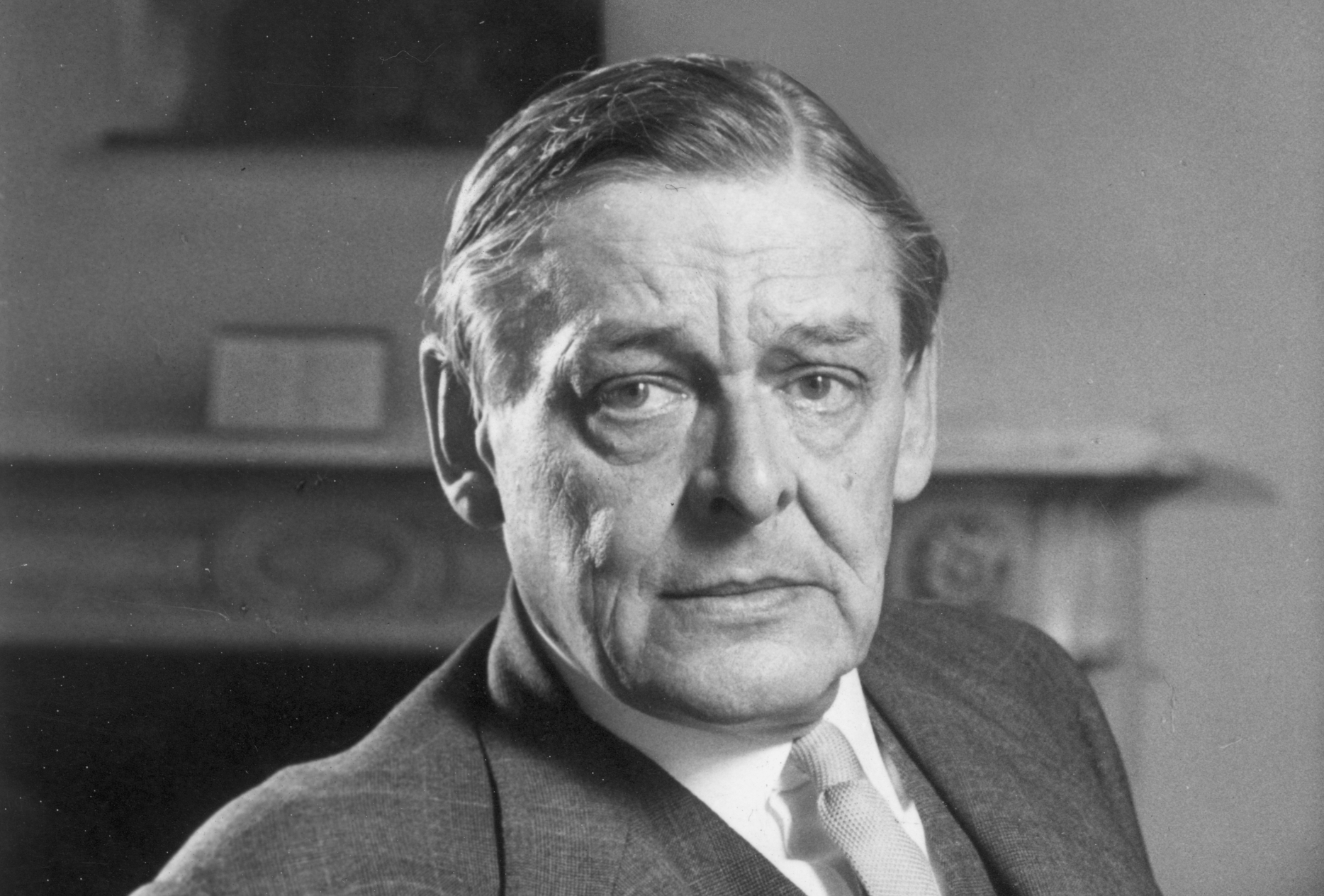 T. S. Eliot | Vía: Archivo Arana