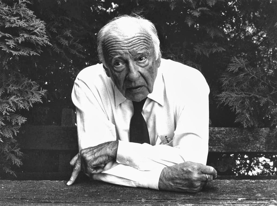 Hans Georg Gadamer | Vía: Archivo Arana