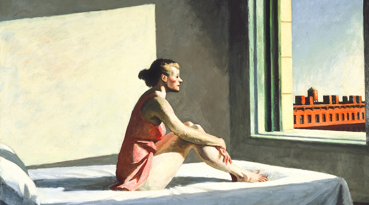Morning sun - Edward Hopper