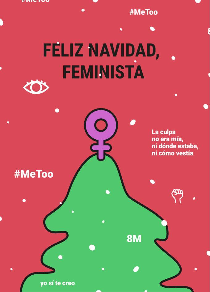 Árbol de Navidad feminista