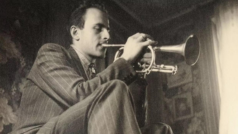 boris vian tocando la trompeta
