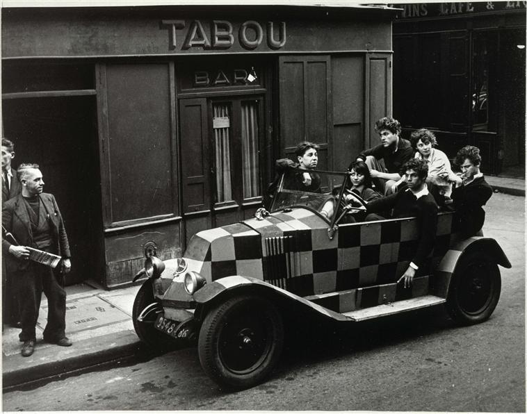 Le Tabou, fotografía de Robert Doisneau