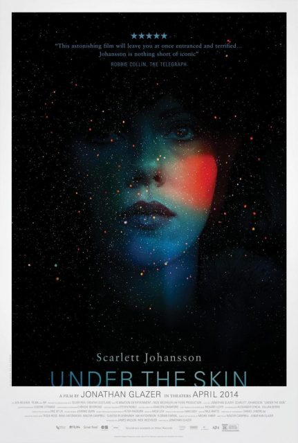 Poster de la pelicula Under the skin.