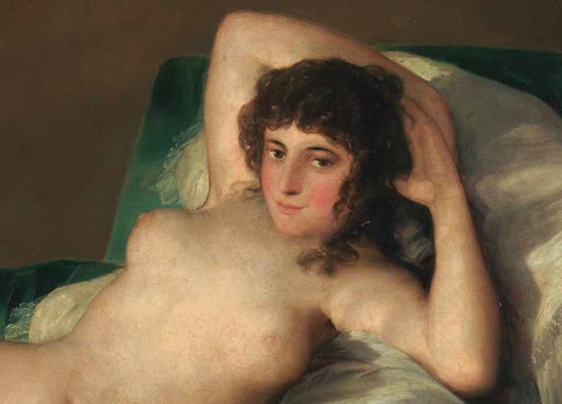 El retrato de la Maja de Goya